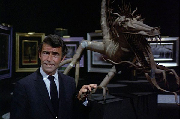 night-gallery-season-2-rod-serling-gallery-dragon-statue